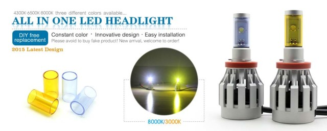 ALL IN ONE LED HEADLIGHT